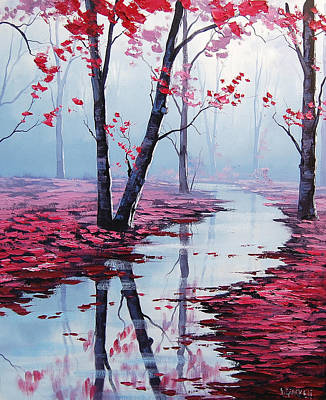 Reflection Painting - Touch Of Heaven by Graham Gercken