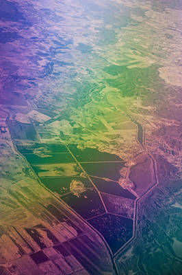 Unique View Photograph - Touch Of Rainbow. Rainbow Earth by Jenny Rainbow