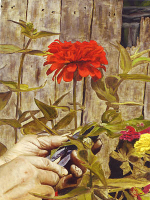 Art Print featuring the painting Touch Of The Master's Hand by Rick Fitzsimons
