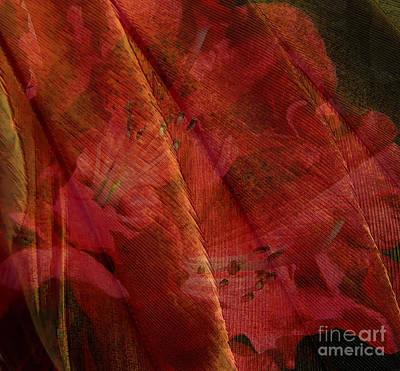 Digital Art - Touch Of The Orient by Liz  Alderdice