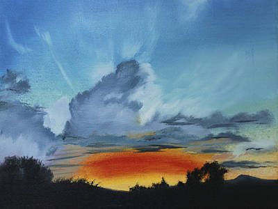 Painting - Touch The Sky by Nila Jane Autry