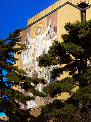 Photograph - Touchdown Jesus by Connie Dye