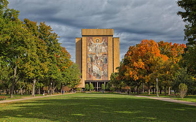 Photograph - Touchdown Jesus by John M Bailey