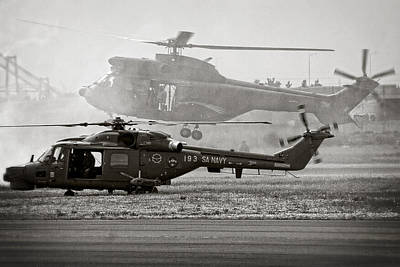 South African Air Force Photograph - Touchdown by Paul Job