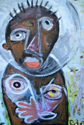 Robert Daniels Mixed Media - Touched By The Spirit by Robert Daniels