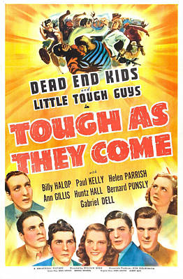 Tough As They Come, Us Poster, Bottom Art Print by Everett