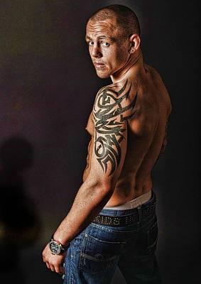 Kickboxer Photograph - Tough Guy by John Lynch