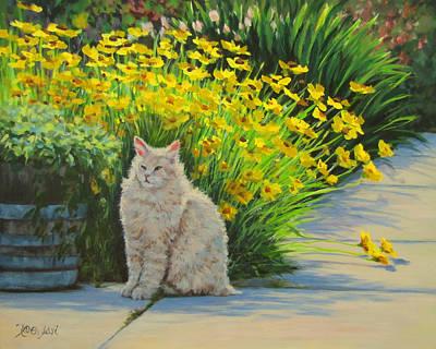 Painting - Tough Guy by Karen Ilari