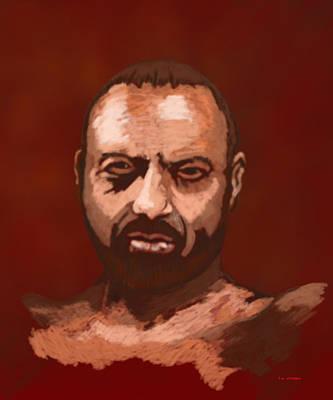 Tough Guy Art Print by Tim Stringer