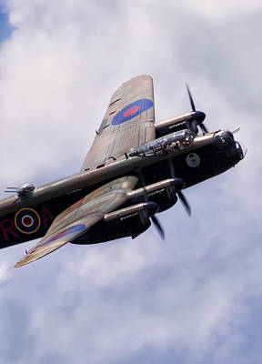 Lancaster Photograph - Tough Old Bird by Peter Chilelli