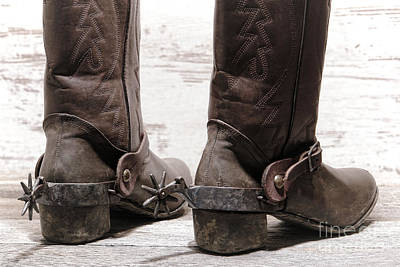 Photograph - Tough Spurs by Olivier Le Queinec