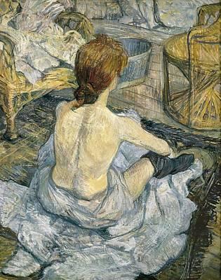 Impressionist Photograph - Toulouse-lautrec, Henri De 1864-1901 by Everett