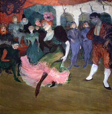 Lender Photograph - Toulouse Lautrec's Marcelle Lender Dancing The Bodero In Chilperic by Cora Wandel