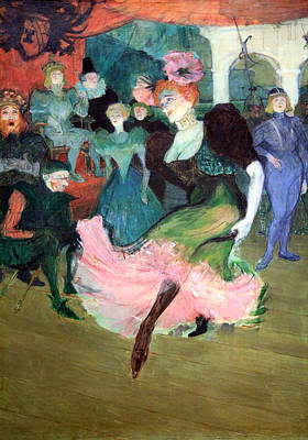 Lender Photograph - Toulouse Lautrec's Marcelle Lender Dancing The Bodero In Chilperic Up Close by Cora Wandel