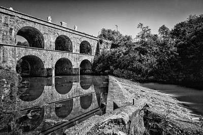 Tounj Bridge Art Print by Davorin Mance