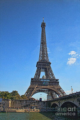 Photograph - Tour De Eiffel  by Crystal Nederman