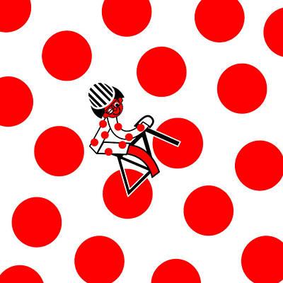 Digital Art - Tour De France 2014 Stage 17 by Asbjorn Lonvig