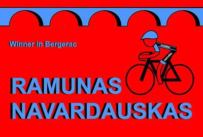 Digital Art - Tour De France 2014 Stage 19 by Asbjorn Lonvig