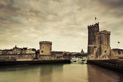 Tour De La Chaine And Tour St-nicholas Art Print by Panoramic Images