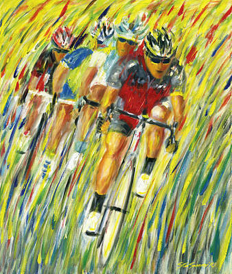 Painting - Tour Downunder by Stan Sweeney
