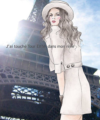 Photograph - Tour Eiffel by Junko Van Norman