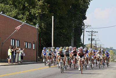Photograph - Tour Of Missouri - Pro Cycling by Jane Eleanor Nicholas