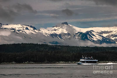 Touring Alaska Print by Robert Bales