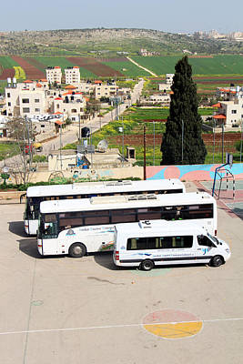Photograph - Tourist Buses by Munir Alawi