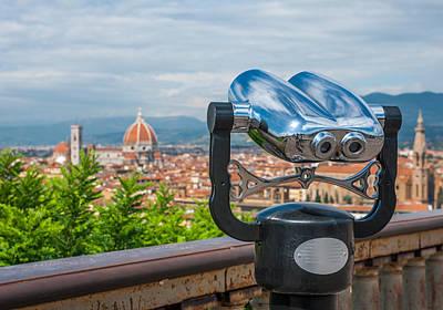 Photograph - Touristic Florence by Gurgen Bakhshetsyan