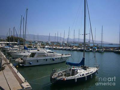 Photograph - Tourkolimano -piraeus  by Katerina Kostaki