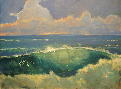 Tourmaline Surf Art Print by Jim Noel