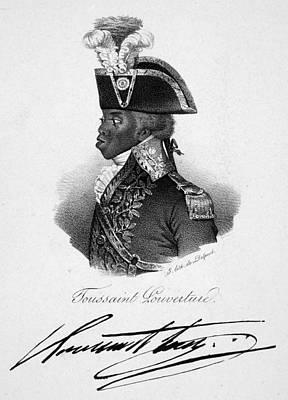 Autographs Painting - Toussaint L'ouverture (c1743-1803) by Granger
