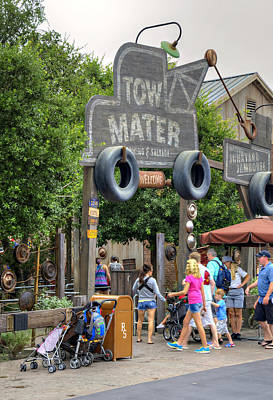 Photograph - Tow Mater by Ricky Barnard