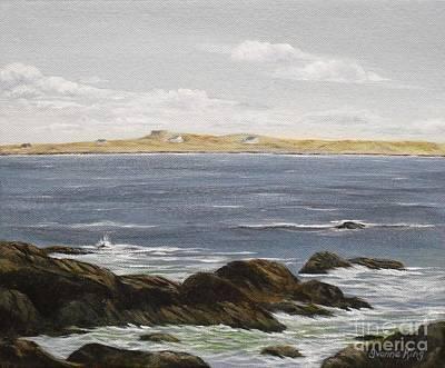 An Island Painting - Toward Inishlacken by Yvonne King