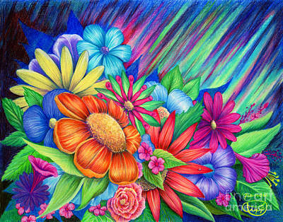 Painting - Toward The Light by Nancy Cupp