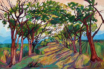 Towards Griffith Print by Erin Hanson