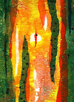 Painting - Towards The Light by Lynda Hoffman-Snodgrass