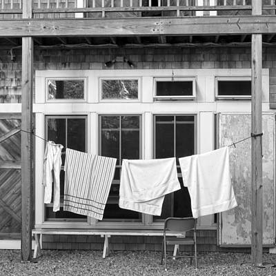 Photograph - Towels by Frank Winters