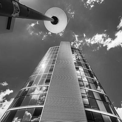 Photograph - Tower And Lamppost. by Gary Gillette