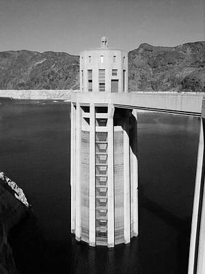 Tower At Hoover Dam Art Print