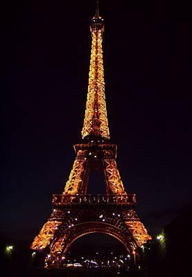 Tower At Night Art Print