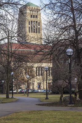 Photograph - Tower At U Of M by John McGraw