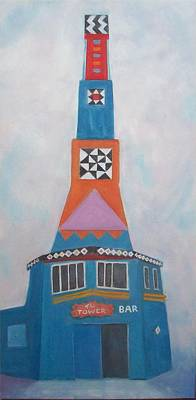 Painting - Tower Bar by Irene Corey