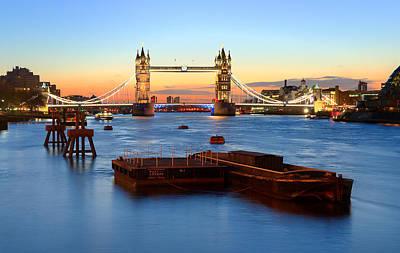 Tower Bridge At Sunrise Original