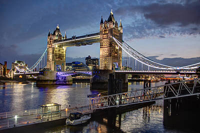 Photograph - Tower Bridge by Brent Durken