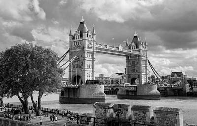 Photograph - Tower Bridge by Brian Grzelewski