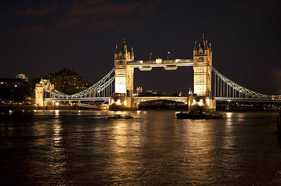 Photograph - Tower Bridge by Gouzel -