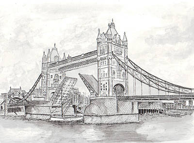 Tower Bridge In London Original by Brian Thompson