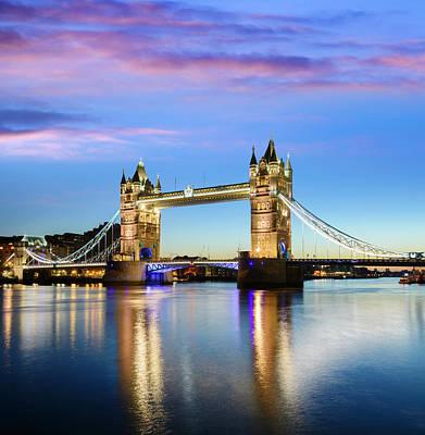 Photograph - Tower Bridge Located In London by Deejpilot