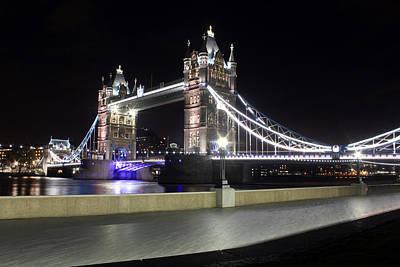 Tower Bridge London Art Print by Dan Davidson